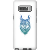 Balazs Solti Wolf Phone Case for iPhone and Android - Samsung Note 8 - Tough Case - Gloss