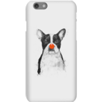 Balazs Solti Red Nosed Bulldog Phone Case for iPhone and Android - iPhone 6S - Snap Case - Matte