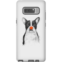 Balazs Solti Red Nosed Bulldog Phone Case for iPhone and Android - Samsung Note 8 - Tough Case - Glo