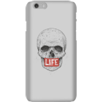 Balazs Solti Life Skull Phone Case for iPhone and Android - iPhone 6 - Snap Case - Matte