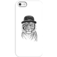 Balazs Solti Tiger In A Hat Phone Case for iPhone and Android - iPhone 5/5s - Snap Case - Matte