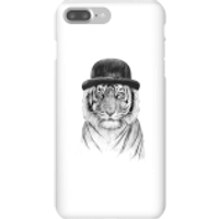 Balazs Solti Tiger In A Hat Phone Case for iPhone and Android - iPhone 7 Plus - Snap Case - Matte