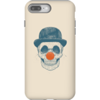 Balazs Solti Red Nosed Skull Phone Case for iPhone and Android - iPhone 8 Plus - Tough Case - Matte