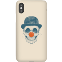 Balazs Solti Red Nosed Skull Phone Case for iPhone and Android - iPhone X - Snap Case - Gloss