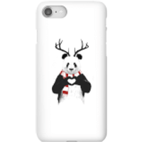 Balazs Solti Winter Panda Phone Case for iPhone and Android - iPhone 8 - Snap Case - Matte