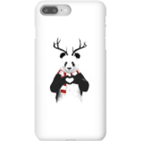 Balazs Solti Winter Panda Phone Case for iPhone and Android - iPhone 8 Plus - Snap Case - Matte