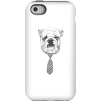 Balazs Solti Suited And Booted Bulldog Phone Case for iPhone and Android - iPhone 5C - Tough Case -