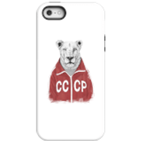 Balazs Solti CCCP Lion Phone Case for iPhone and Android - iPhone 5/5s - Tough Case - Matte