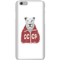 Balazs Solti CCCP Lion Phone Case for iPhone and Android - iPhone 6 - Snap Case - Gloss