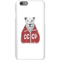 Balazs Solti CCCP Lion Phone Case for iPhone and Android - iPhone 6S - Snap Case - Gloss
