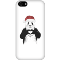 Balazs Solti Santa Bear Phone Case for iPhone and Android - iPhone 5C - Snap Case - Matte - Santa Gifts