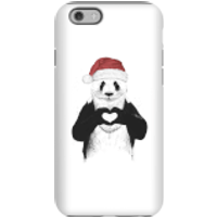 Balazs Solti Santa Bear Phone Case for iPhone and Android - iPhone 6S - Tough Case - Matte - Santa Gifts