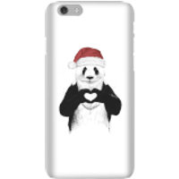 Balazs Solti Santa Bear Phone Case for iPhone and Android - iPhone 6 - Snap Case - Gloss - Santa Gifts