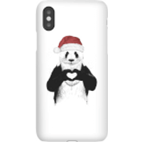 Balazs Solti Santa Bear Phone Case for iPhone and Android - iPhone X - Snap Case - Gloss - Santa Gifts