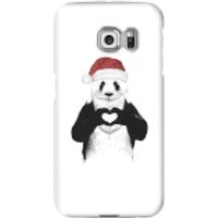 Balazs Solti Santa Bear Phone Case for iPhone and Android - Samsung S6 Edge - Snap Case - Gloss - Santa Gifts