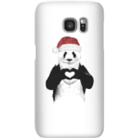 Balazs Solti Santa Bear Phone Case for iPhone and Android - Samsung S7 - Snap Case - Gloss - Santa Gifts