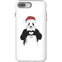 Balazs Solti Santa Bear Phone Case for iPhone and Android - iPhone 8 Plus - Tough Case - Gloss - Santa Gifts
