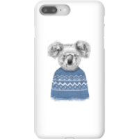 Image of Balazs Solti Koala And Jumper Phone Case for iPhone and Android - iPhone 8 Plus - Snap Case - Gloss
