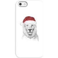 Balazs Solti Santa Bear Phone Case for iPhone and Android - iPhone 5/5s - Snap Case - Matte - Santa Gifts