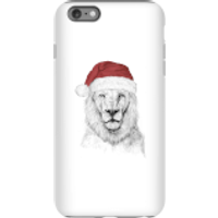 Balazs Solti Santa Bear Phone Case for iPhone and Android - iPhone 6 Plus - Tough Case - Matte - Santa Gifts