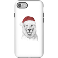 Balazs Solti Santa Bear Phone Case for iPhone and Android - iPhone 7 - Tough Case - Matte - Santa Gifts