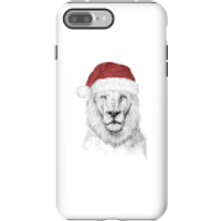 Balazs Solti Santa Bear Phone Case for iPhone and Android - iPhone 7 Plus - Tough Case - Matte - Santa Gifts