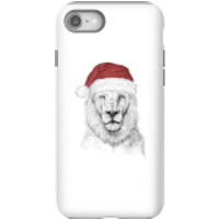 Balazs Solti Santa Bear Phone Case for iPhone and Android - iPhone 8 - Tough Case - Matte - Santa Gifts