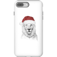 Balazs Solti Santa Bear Phone Case for iPhone and Android - iPhone 8 Plus - Tough Case - Matte - Santa Gifts