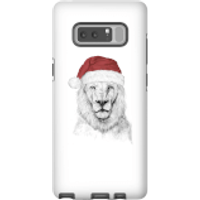 Santa Bear Phone Case for iPhone and Android - Samsung Note 8 - Tough Case - Matte - Santa Gifts