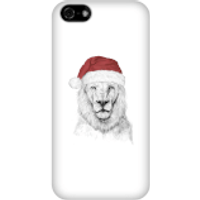 Santa Bear Phone Case for iPhone and Android - iPhone 5C - Snap Case - Gloss - Santa Gifts