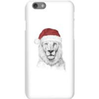 Balazs Solti Santa Bear Phone Case for iPhone and Android - iPhone 6S - Snap Case - Gloss - Santa Gifts