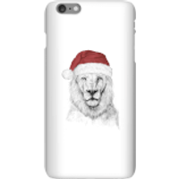 Balazs Solti Santa Bear Phone Case for iPhone and Android - iPhone 6 Plus - Snap Case - Gloss - Santa Gifts