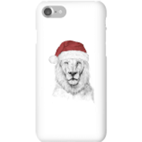 Balazs Solti Santa Bear Phone Case for iPhone and Android - iPhone 7 - Snap Case - Gloss - Santa Gifts
