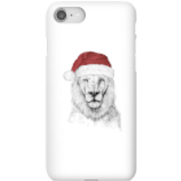 Santa Bear Phone Case for iPhone and Android - iPhone 8 - Snap Case - Gloss - Santa Gifts