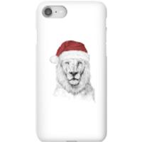 Balazs Solti Santa Bear Phone Case for iPhone and Android - iPhone 8 - Snap Case - Gloss - Santa Gifts