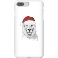 Santa Bear Phone Case for iPhone and Android - iPhone 8 Plus - Snap Case - Gloss - Santa Gifts