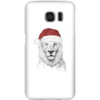 Santa Bear Phone Case for iPhone and Android - Samsung S6 - Snap Case - Gloss - Santa Gifts