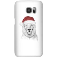 Santa Bear Phone Case for iPhone and Android - Samsung S7 - Snap Case - Gloss - Santa Gifts