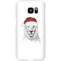 Santa Bear Phone Case for iPhone and Android - Samsung S7 Edge - Snap Case - Gloss - Santa Gifts