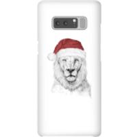 Santa Bear Phone Case for iPhone and Android - Samsung Note 8 - Snap Case - Gloss - Santa Gifts