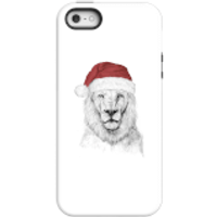 Balazs Solti Santa Bear Phone Case for iPhone and Android - iPhone 5/5s - Tough Case - Gloss - Santa Gifts
