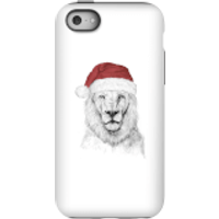 Balazs Solti Santa Bear Phone Case for iPhone and Android - iPhone 5C - Tough Case - Gloss - Santa Gifts