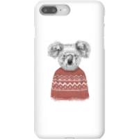 Balazs Solti Koala And Jumper Phone Case for iPhone and Android - iPhone 8 Plus - Snap Case - Gloss