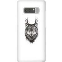 Balazs Solti Wolf Phone Case for iPhone and Android - Samsung Note 8 - Snap Case - Matte
