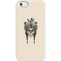Image of Balazs Solti Bear Head Phone Case for iPhone and Android - iPhone 5/5s - Snap Case - Matte