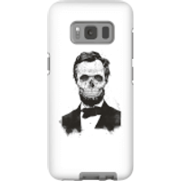 Balazs Solti Suited And Booted Skull Phone Case for iPhone and Android - Samsung S8 - Tough Case - G