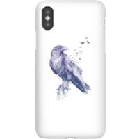 Balazs Solti Birds Flying Phone Case for iPhone and Android - iPhone X - Snap Case - Gloss - Flying Gifts
