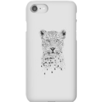 Balazs Solti Leopard Phone Case for iPhone and Android - iPhone 8 - Snap Case - Gloss - Leopard Gifts