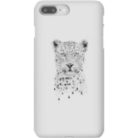 Balazs Solti Leopard Phone Case for iPhone and Android - iPhone 8 Plus - Snap Case - Gloss - Leopard Gifts