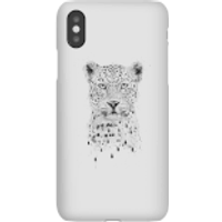 Balazs Solti Leopard Phone Case for iPhone and Android - iPhone X - Snap Case - Gloss - Leopard Gifts